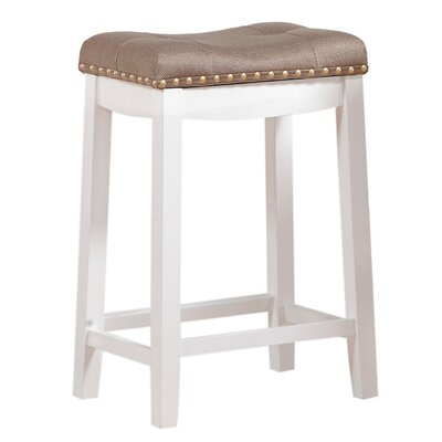 Cambridge 24 Bar Stool Upholstery: Tan