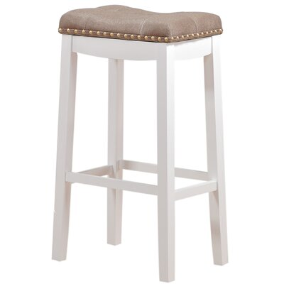Cambridge 29 Bar Stool Upholstery: Tan