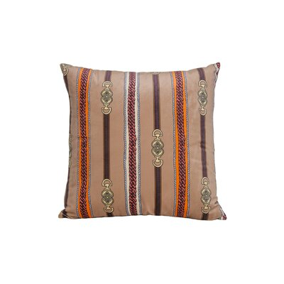 Couture Throw Pillow Color: Khaki