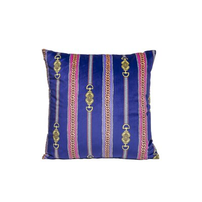 Couture Throw Pillow Color: Purple