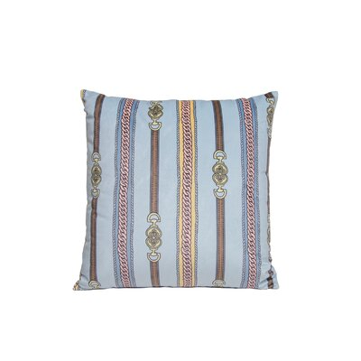 Couture Throw Pillow Color: Blue