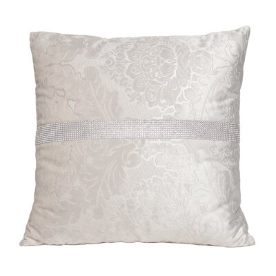 Suede Diamond Square Throw Pillow
