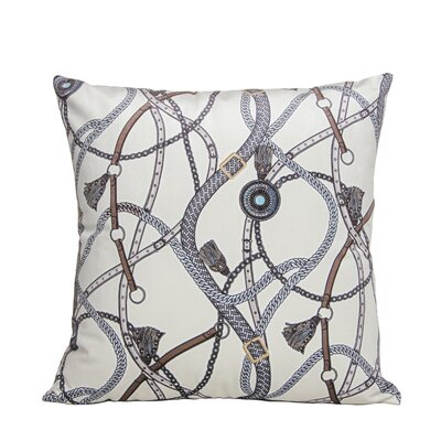 Couture Throw Pillow Color: Ivory