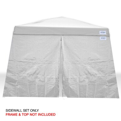 V-Series 2 10 Ft. W x 10 Ft. D Sidewall Canopy Kit