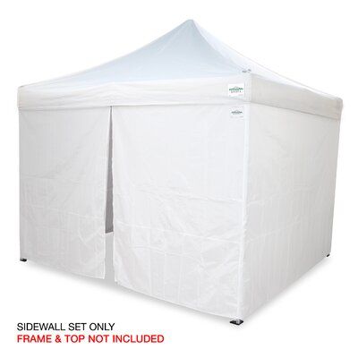M - Series 2 PRO 10 Ft. W x 10 Ft. D Sidewall Kit Canopy