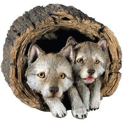Forever Friends Wolf Pups Sculpture FF45202