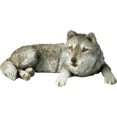 Mid Size Sculptures Wolf Figurine MS45201