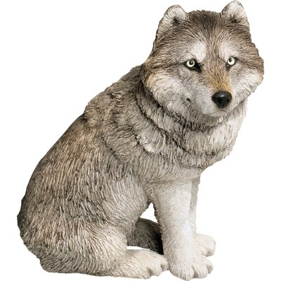 Mid Size Wolf Sculpture MS501