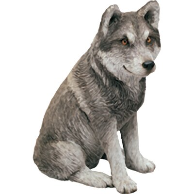 Mid Size Sculptures Exican Wolf Figurine MS507