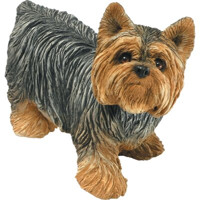 Sandicast Mid Size Sculptures Yorkshire Terrier Figurine