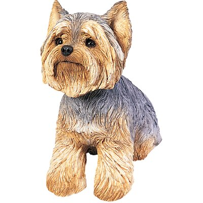 Original Size Sculptures Yorkshire Terrier Figurine