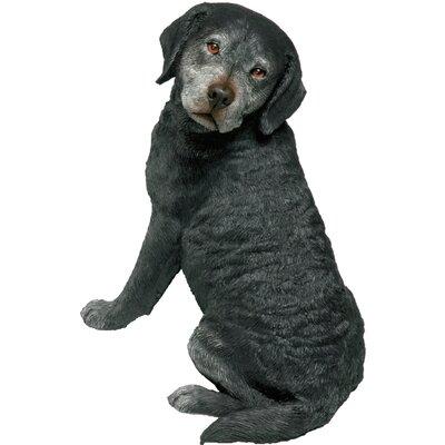 Original Size Sitting Labrador Retriever Figurine OS472
