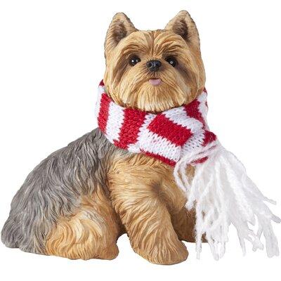 Sandicast Yorkshire Terrier Christmas Tree Ornament