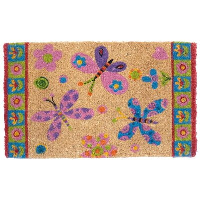 Magic L.E.D Dragonfly Dance Doormat
