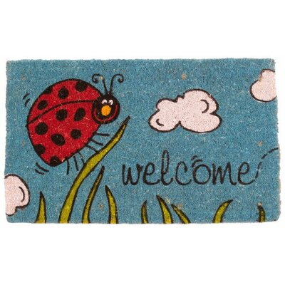 Magic L.E.D Little Ladybug Doormat