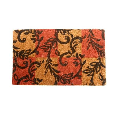 Branching Twirls Doormat