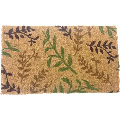 Light Leaves Doormat