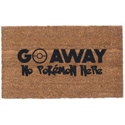 Pokemon Go Away Doormat