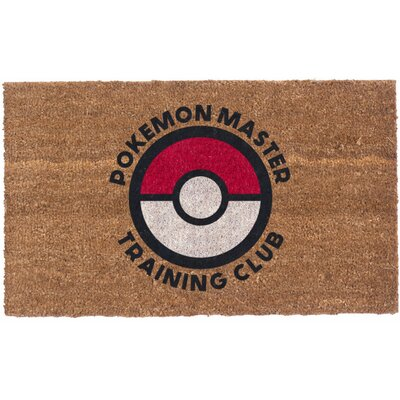 Pokemon Master Club Doormat