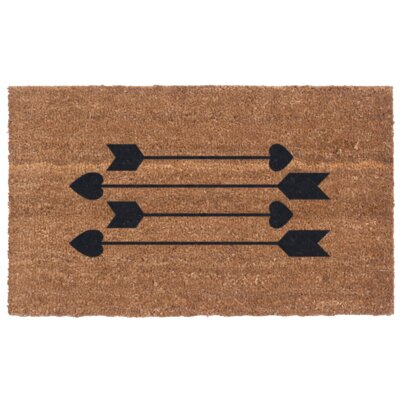 Cupids Arrows Door Mat