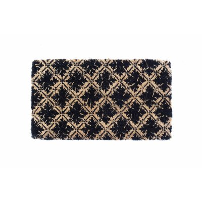 Diamond Floral Doormat