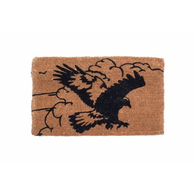Pouncing Eagle Doormat