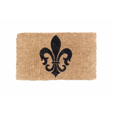 Fleur De Lis Symbol Doormat