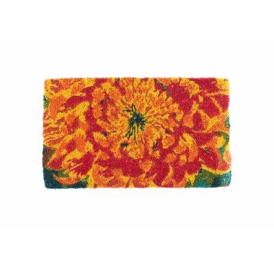 Chrysanthemum Doormat