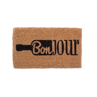 Bonjour Wine Doormat