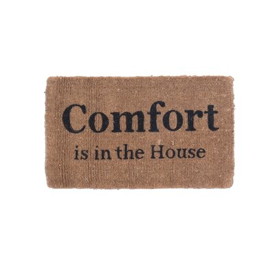 Comfort Is in the House Doormat
