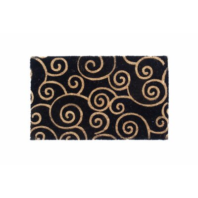 Peacock Swirls Doormat