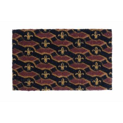 Fleur De Lis Flag Doormat