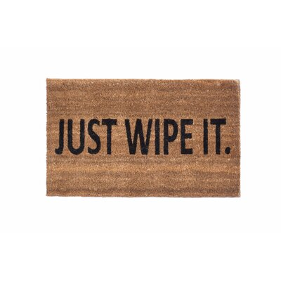 Just Wipe It Doormat