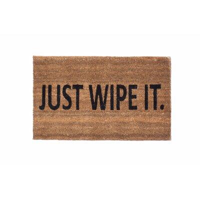 Just Wipe It Doormat