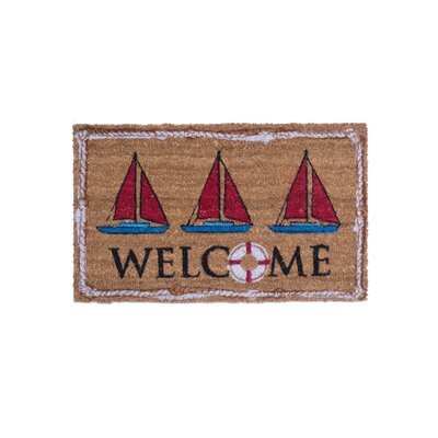 Nautical Welcome Doormat