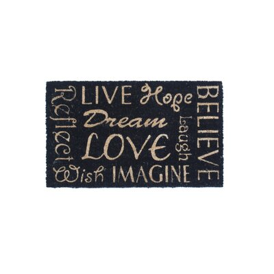 Words of Wisdom Doormat