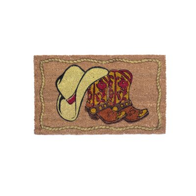 Cowboy Welcome Doormat