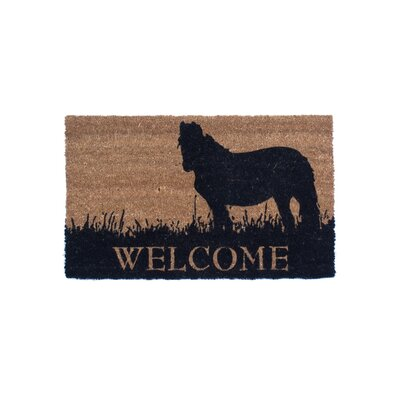Pony Welcome Doormat