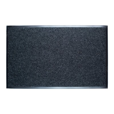 Dura Nop Entrance Doormat Rug Size: 3 x 5, Color: Grey