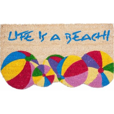 Life Is A Beach Doormat