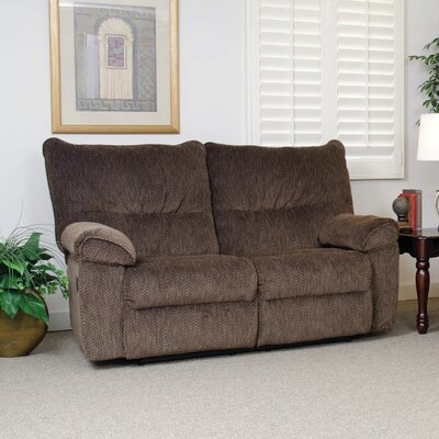 Double Reclining Loveseat Upholstery: Gazette Basil