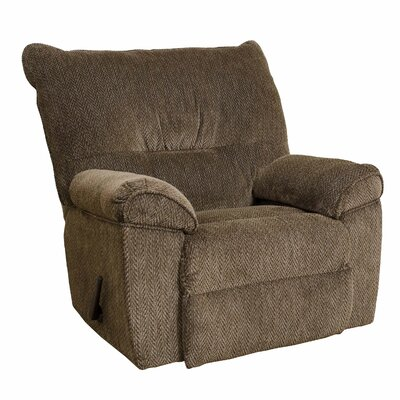 VIII Manual Rocker Recliner Upholstery: Gazette Basil