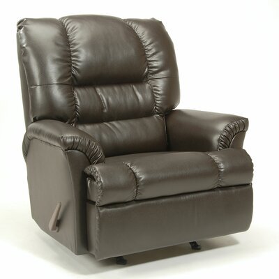 VI Manual Rocker Recliner Upholstery: Marshall Walnut