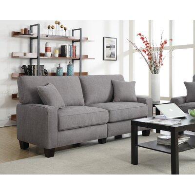 Palisades 73 Sofa Upholstery: Glacial Gray