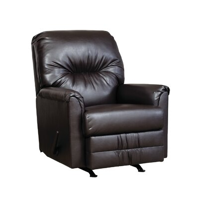 Manual Rocker Recliner Upholstery: San Marino Chocolate