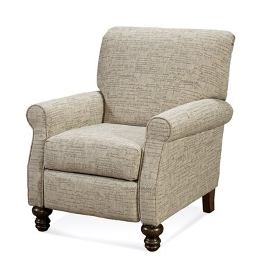 Lettie Recliner Upholstery: Renaissance Silver