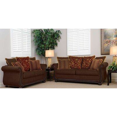 Marlborough Sofa Upholstery: Radar Brown / Windsor Brown / Quinn