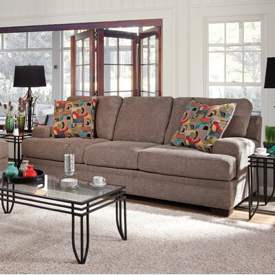 Vermont Sofa Upholstery: Furby Pewter