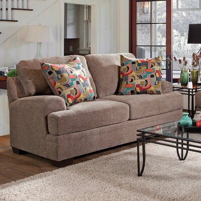 Loveseat Upholstery: Furby Pewter