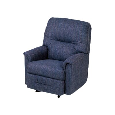 Reo Manual Rocker Recliner Upholstery: Radar Blue